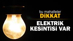 Elektrik kesintisi can sıkıyor…