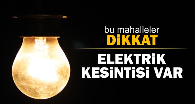 Bodrum'un 7 mahallesinde elektrik kesintisi olacak… bodrum elektrik kesintisi 1