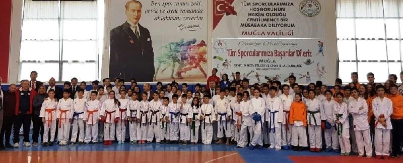 karate MUĞLA TAKIMINA BODRUM'DAN 5 KARATECİ… bodrumlu karateciler basari 2