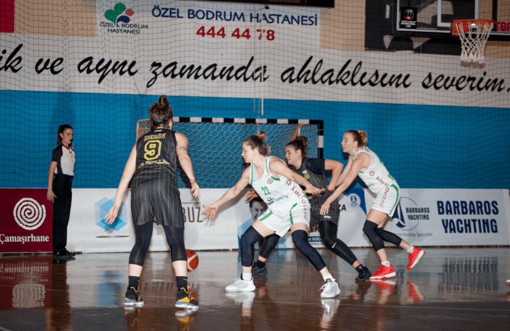 basketbol KIRÇİÇEKLERİ FARKLI SKORLA YARA SARDI… kircicegi bodrum basketbol cankaya universitesi 2