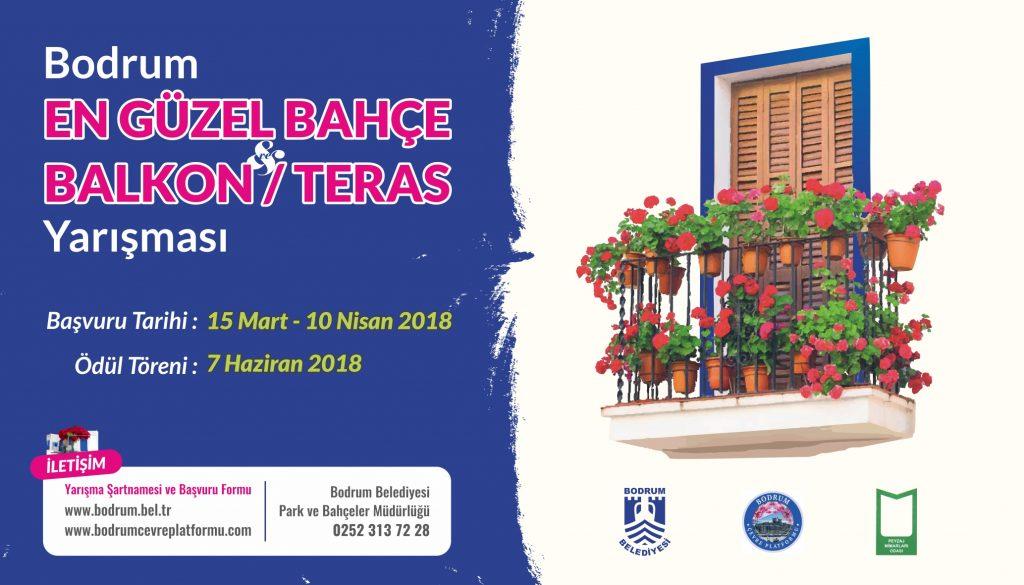balkon BODRUM'UN EN GÜZEL BALKON-TERAS SEÇİLECEK… bodrum en guzel bahce balkon teras yarismasi 1