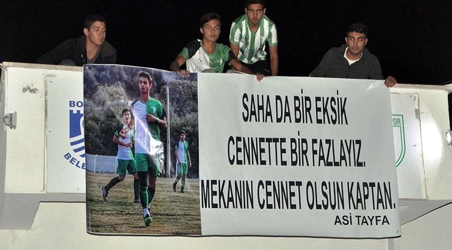 futbol ARKADAŞLARININ ANISINI SAHADA YAŞATIYORLAR… halil ibrahim iper il birincisi 1