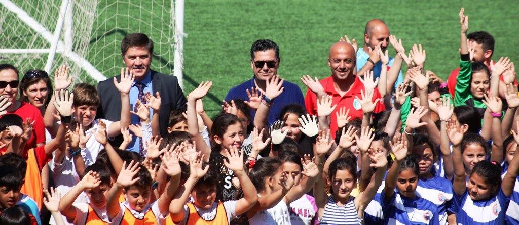 ismail altındağ İSMAİL ALTINDAĞ ÇOCUK FUTBOL FESTİVALİ BAŞLADI… ismail alt  ndag futbol turnuvas 1