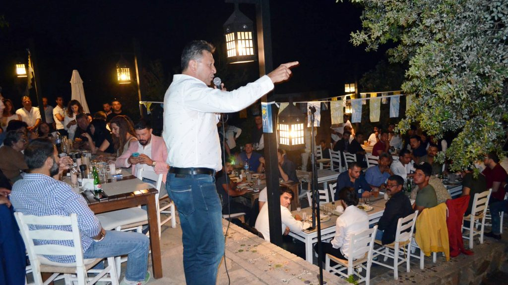 bodrum iyi parti GENÇLER BODRUM'A İYİ GELECEK… iyi parti geclik kollari bulusma 1