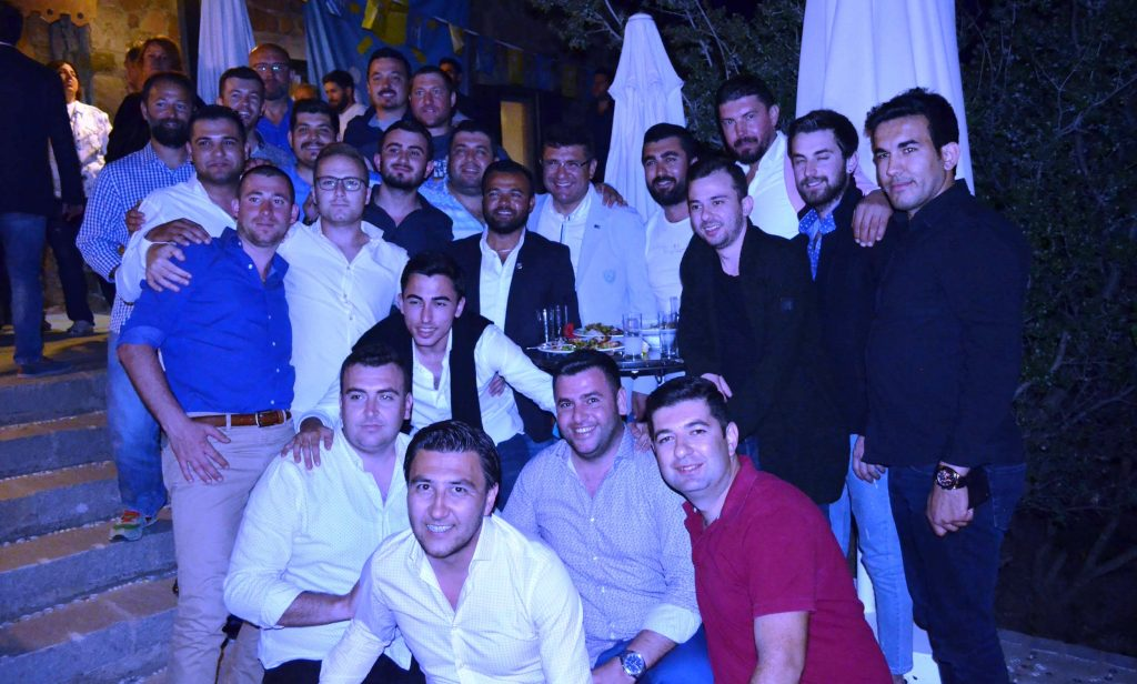 bodrum iyi parti GENÇLER BODRUM'A İYİ GELECEK… iyi parti geclik kollari bulusma 3