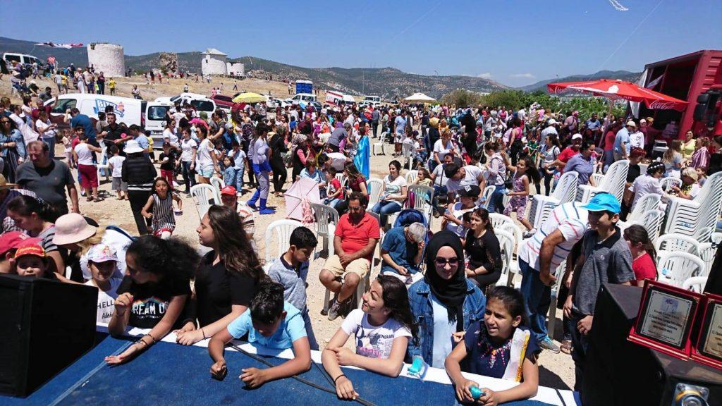 bodrum uÇurtma GELENEKSEL BODRUM UÇURTMA FESTİVALİ YAPILDI… bodrum ucurtma festivali 1