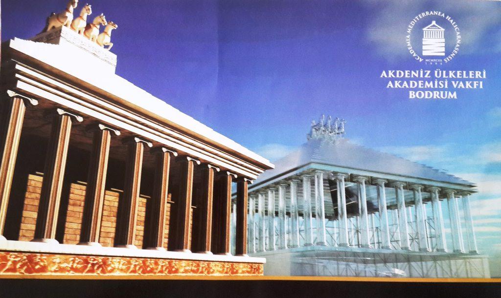 bodrum mozole BODRUMLU MİMARLARDAN MOZOLE TEPKİSİ: MOZOLENİN ÇAKMASI OLMAZ… bodrumlu mimarlar cam mozeleye karsi 3
