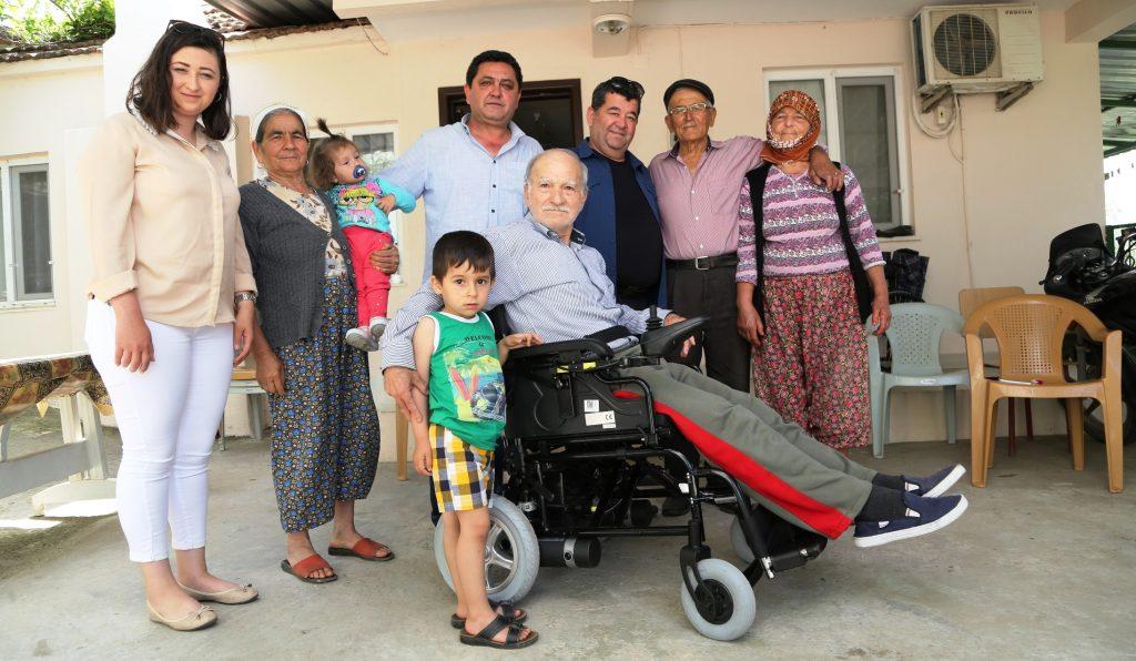bodrum belediyesi ENGELLİ VATANDAŞLARA DESTEK SÜRÜYOR… engelli vatandaslara destek suruyor