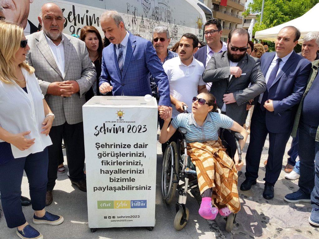 """şehir 2023 """"ŞEHRİM 2023"""" OTOBÜSÜ MUĞLA'DA… sehrim 2023 mugla da vatandasi dinledi 1"""