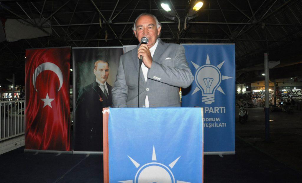 ak parti bodrum YAVUZ DEMİR: CHP'NİN ELİNDEN ATATÜRK'Ü DE LAİKLİĞİ DE ALACAĞIM… AK Parti   ftar Yeme  i 8