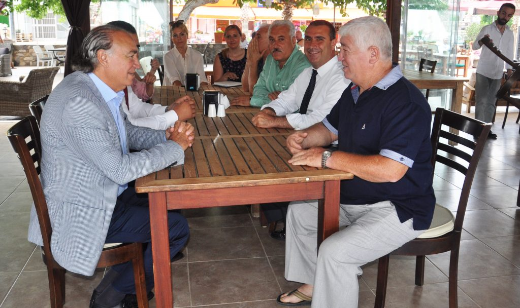 ak parti bodrum YAVUZ DEMİR, TURİZM YATIRIMCILARINI ZİYARET ETTİ… AK Parti se  im   al    mas   1