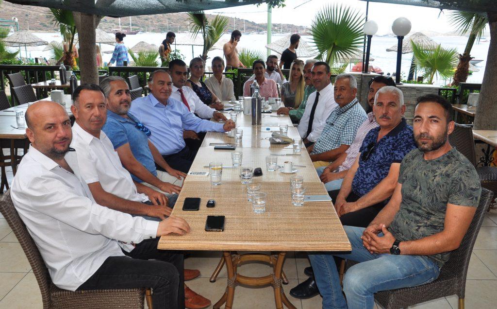 ak parti bodrum YAVUZ DEMİR, TURİZM YATIRIMCILARINI ZİYARET ETTİ… AK Parti se  im   al    mas   2