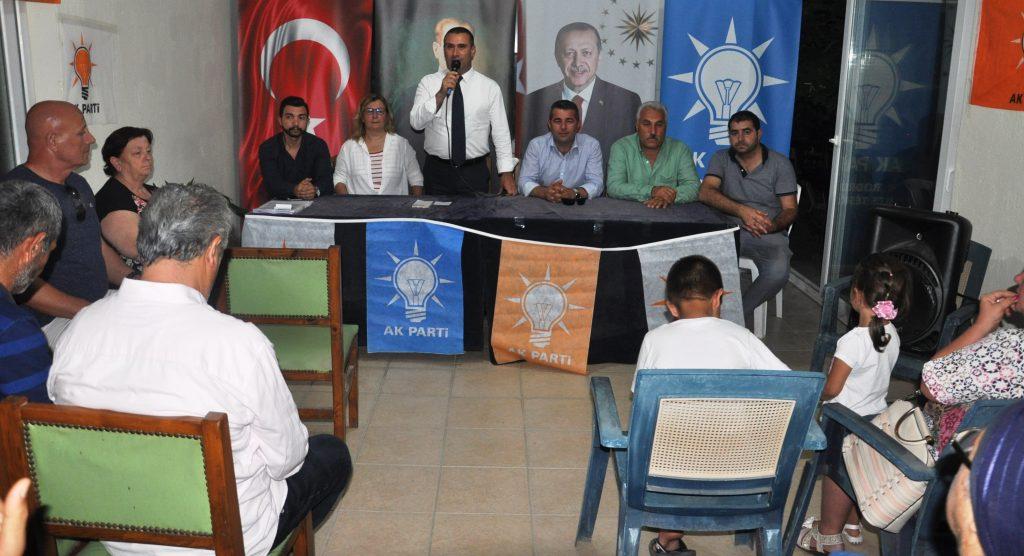 ak parti bodrum YAVUZ DEMİR, TURİZM YATIRIMCILARINI ZİYARET ETTİ… DSC 0211