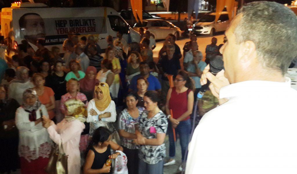 konacık HÜSEYİN ZAFER ALKAYA: MUĞLALININ SORUNU CHP'Lİ BELEDİYELER… ak parti konacik secim calismasi 1