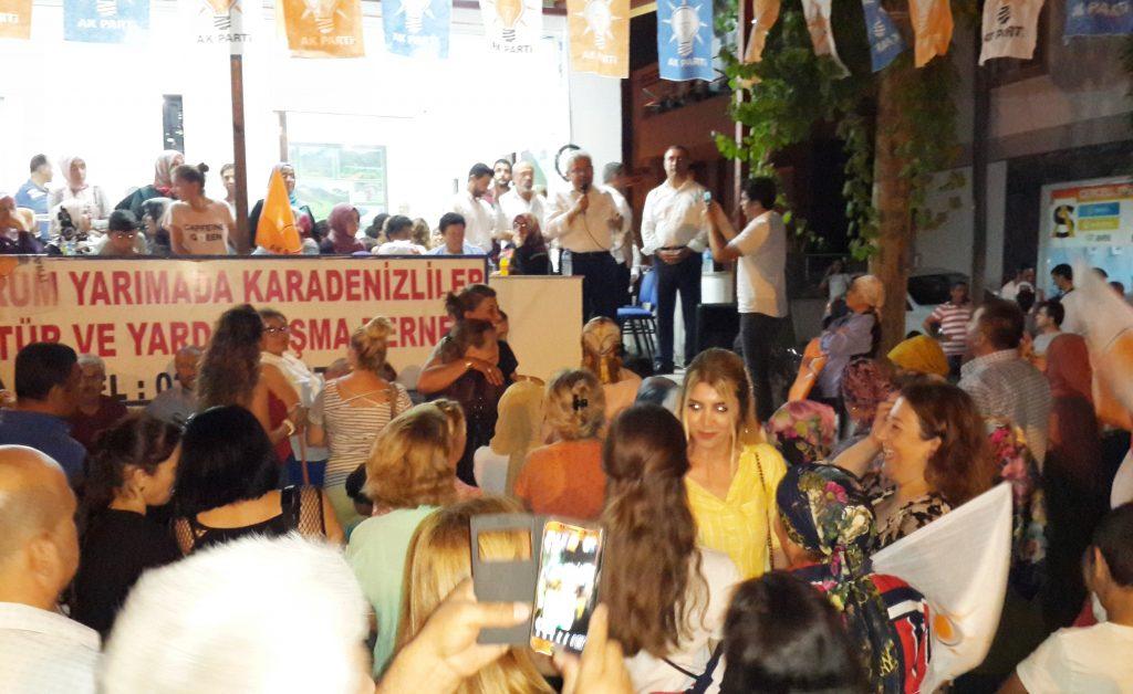 konacık HÜSEYİN ZAFER ALKAYA: MUĞLALININ SORUNU CHP'Lİ BELEDİYELER… ak parti konacik secim calismasi 2