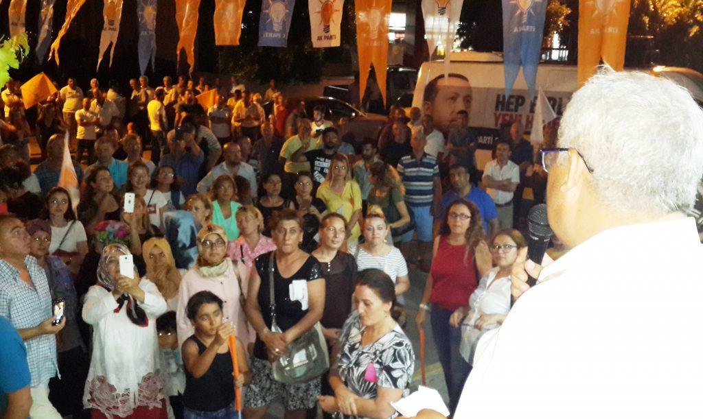 konacık HÜSEYİN ZAFER ALKAYA: MUĞLALININ SORUNU CHP'Lİ BELEDİYELER… ak parti konacik secim calismasi 3