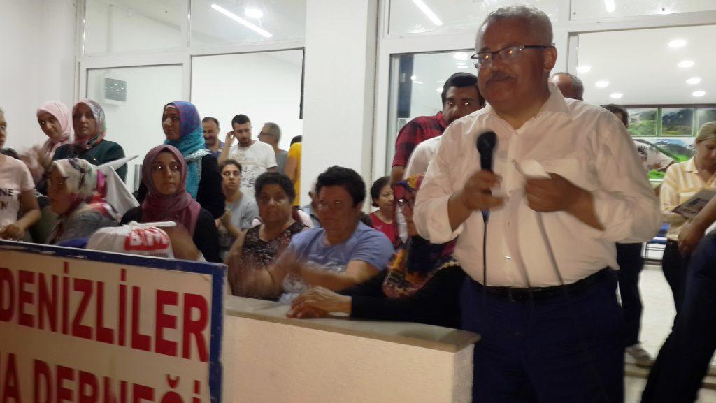 konacık HÜSEYİN ZAFER ALKAYA: MUĞLALININ SORUNU CHP'Lİ BELEDİYELER… ak parti konacik secim calismasi 4