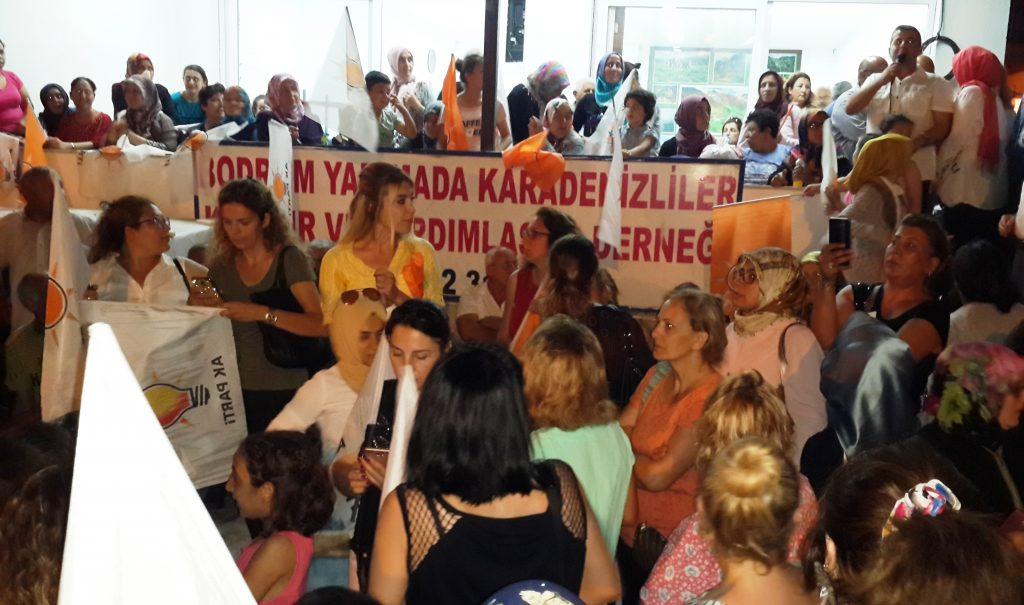 konacık HÜSEYİN ZAFER ALKAYA: MUĞLALININ SORUNU CHP'Lİ BELEDİYELER… ak parti konacik secim calismasi 5