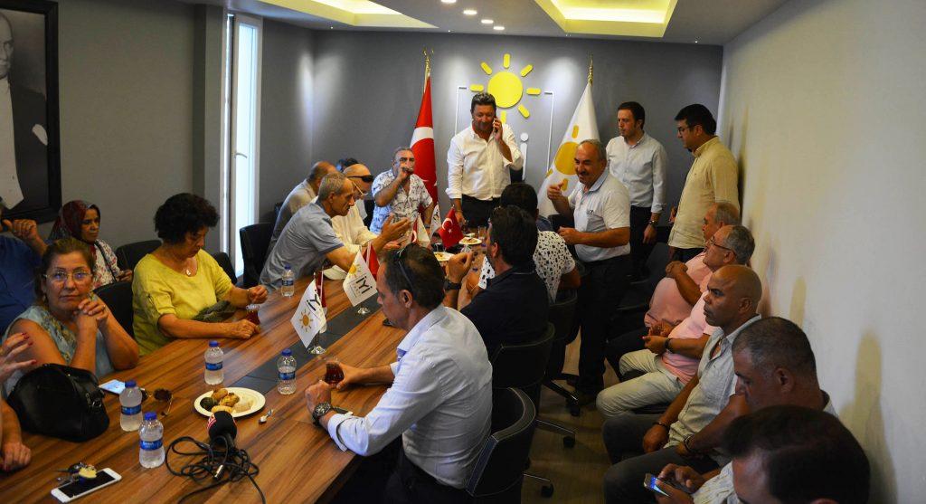 iyi parti İYİ PARTİ BODRUM BAYRAMLAŞTI… iyi parti bayramlasti 2