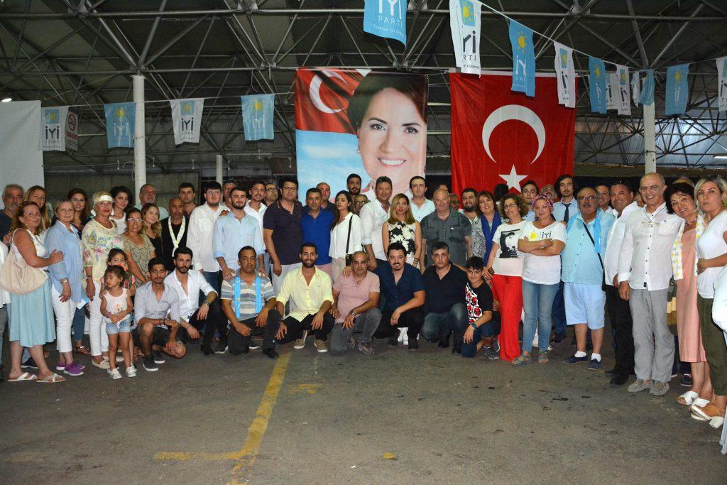 iyi parti bodrum İYİ PARTİ'DEN BODRUM'A İFTAR YEMEĞİ… iyi parti bodrum iftar 1