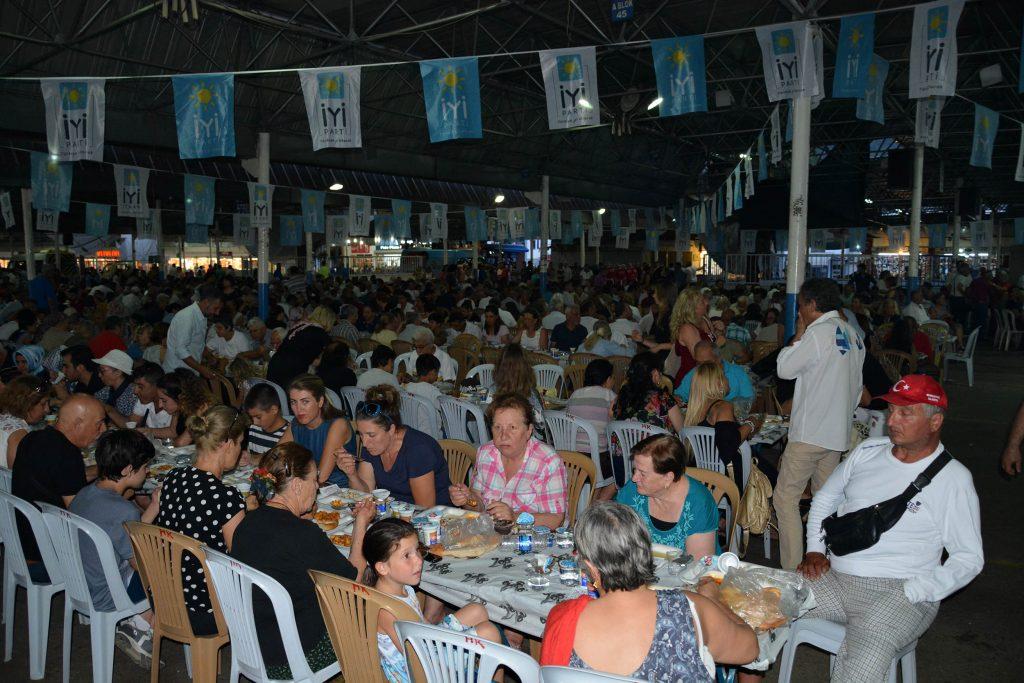 iyi parti bodrum İYİ PARTİ'DEN BODRUM'A İFTAR YEMEĞİ… iyi parti bodrum iftar 3