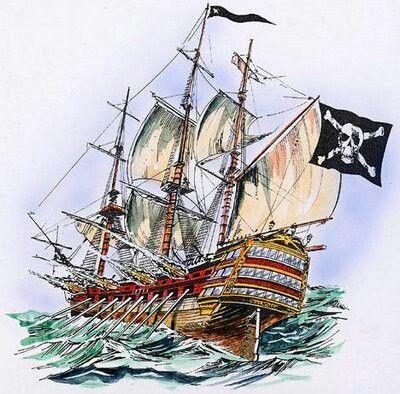 bodrum kalesi  korsan gemisi