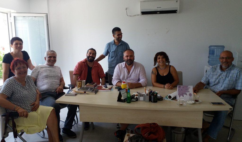 gazeteciler MGC'DEN ALİ FİKRET ER'E GEÇMİŞ OLSUN ZİYARETİ… mu  la gazeteciler cemiyeti bodrum temsilcili  i
