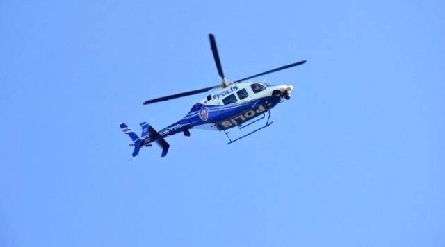 helikopter BODRUM TRAFİĞİNE HAVADAN DENETLEME… bodrum a havadan denetleme 1