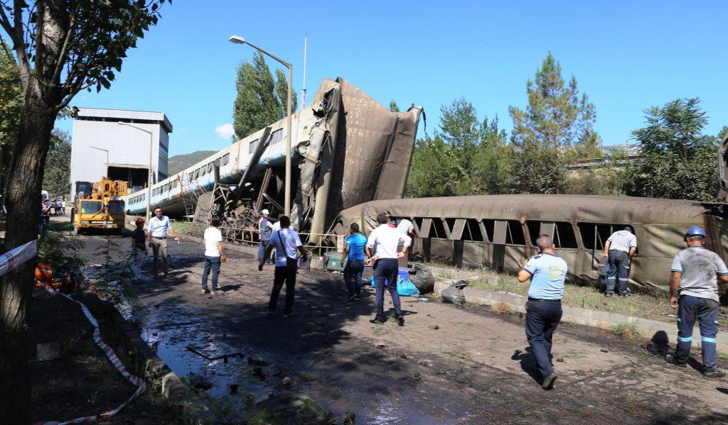 yatağan YATAĞAN TERMİK SANTRALİNDE İŞ KAZASI… yatagan termik santral kaza 2