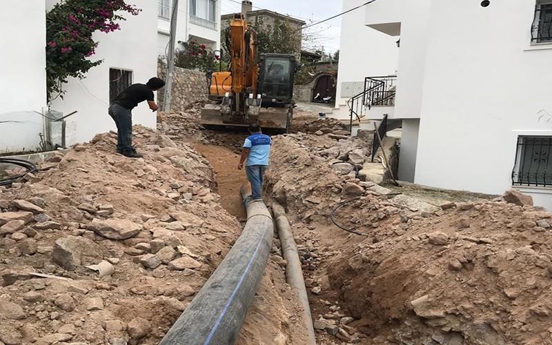 bodruma İÇme suyu hatti ORTAKENT YAHŞİ'YE YENİ İÇME SUYU HATTI… ARENA