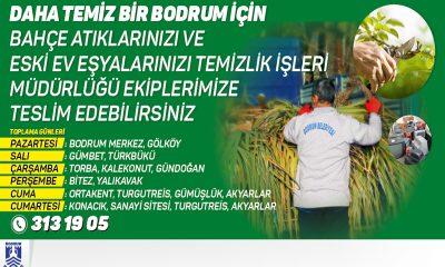 bodrum belediyesi temizlik işleri DAHA TEMİZ BİR BODRUM İÇİN… arena bodrum belediye haber 400x240