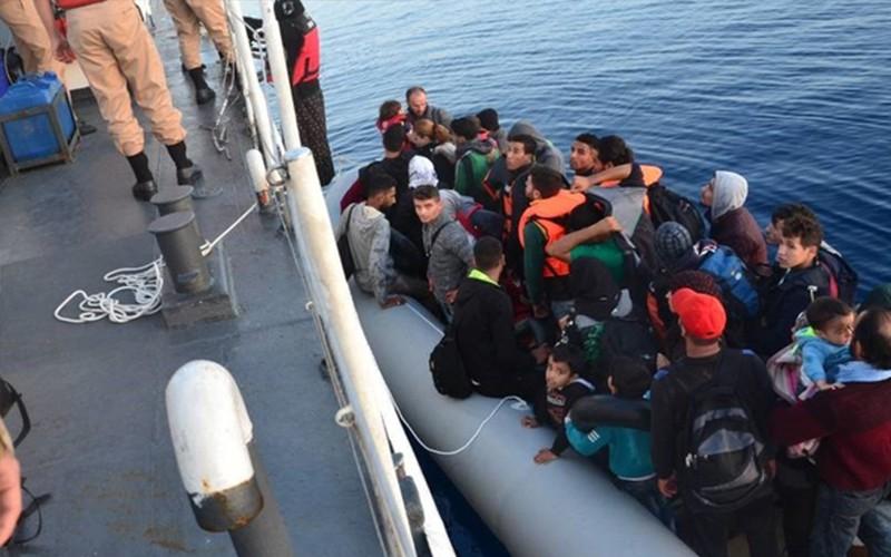 göçmen DÜZENSİZ GÖÇLE MÜCADELE DEVAM EDİYOR… arena bodrum d  zensiz g    le m  cadele