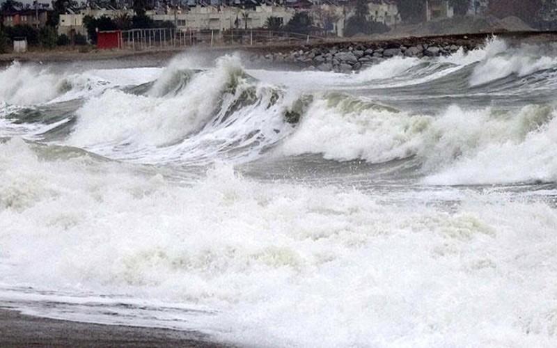 bodrumda firtina uyarisi GECE SAATLERİNDEN İTİBAREN ŞİDDETLİ FIRTINA UYARISI YAPILDI… arena deniz f  rt  na 2