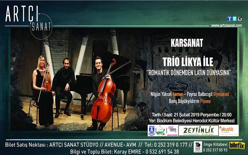 """karsanat 2019 konserlerine başlıyor KARSANAT  """"ROMANTİK DÖNEMDEN, LATİN DÜNYASINA"""" KONSERİ arena karsanat konser"""