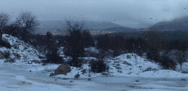 bodruma kar yağdı BURASI ULUDAĞ DEĞİL BODRUM! gozde tatil kenti bodrumda 12 yil sonra bir ilk 1420544437 3588