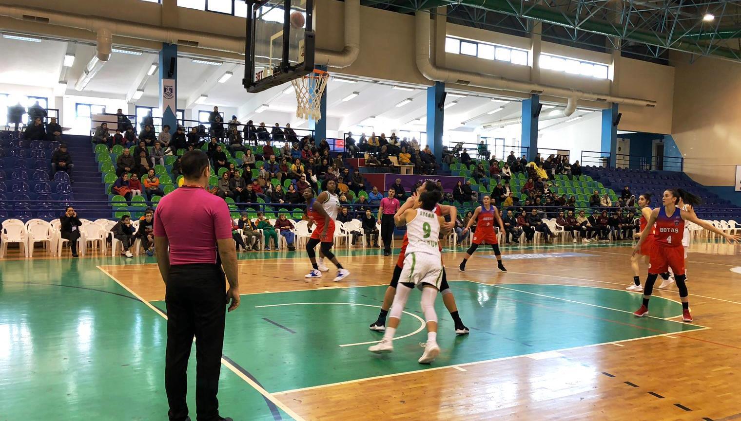 bodrum basketbol SÜPER LİGİN İLK YARISINI GALİBİYET YÜZÜ GÖRMEDEN KAPATTIK… kircicegi bodrum basket botas 1