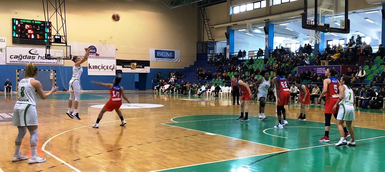 bodrum basketbol SÜPER LİGİN İLK YARISINI GALİBİYET YÜZÜ GÖRMEDEN KAPATTIK… kircicegi bodrum basket botas 2