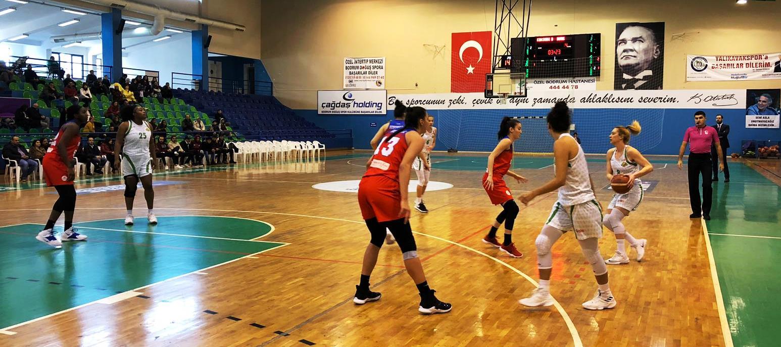 bodrum basketbol SÜPER LİGİN İLK YARISINI GALİBİYET YÜZÜ GÖRMEDEN KAPATTIK… kircicegi bodrum basket botas 4