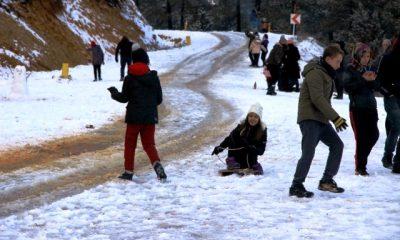 muğla kar yağışı MUĞLA'YA KAR YAĞINCA BÖYLE OLDU… mugla aya kar ya    nca b  yle oldu 1 400x240
