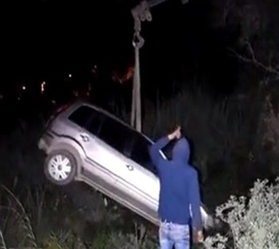 bodrumda trafİk kazasi KONTROLDEN ÇIKAN ARAÇ TERS DÖNDÜ, 1 KİŞİ YARALANDI… ARENA KAZA 12 560x500