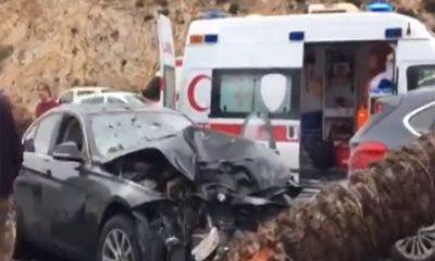 bodrumda trafİk kazasi AŞIRI HIZ YAPAN SÜRÜCÜ KAZADA YARALANDI… ARENA KAZA 8 400x240
