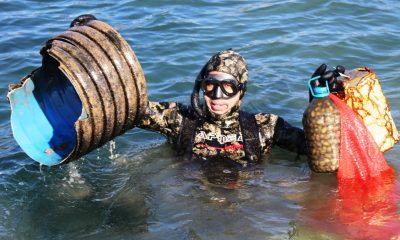 denize en çok mavi yakışır DENİZDE BAHAR TEMİZLİĞİ BAŞLADI… bodrum deniz dibi temizligi 1 400x240