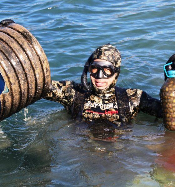denize en çok mavi yakışır DENİZDE BAHAR TEMİZLİĞİ BAŞLADI… bodrum deniz dibi temizligi 1 560x600