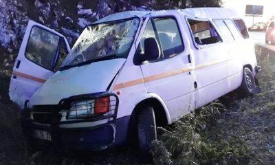 bodrum trafik kazası BODRUM'DA TRAFİK KAZASI 3 ASKER YARALI… guvercinlik kaza 3 asker yarali 1 400x240