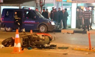 hasan zeybek TURGUTREİS'TEKİ KAZADA MOTOSİKLET SÜRÜCÜSÜ AĞIR YARALANDI… turgutreis kaza 1 400x240