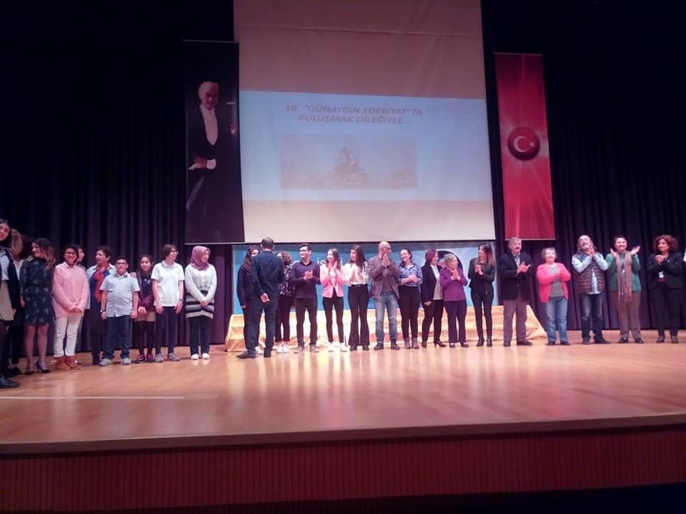 """bodruma edebİyat ÖdÜlÜ BODRUM'A """"GÜNAYDIN EDEBİYAT YARIŞMALARI""""NDA  BİRİNCİLİK ÖDÜLÜ … 3"""
