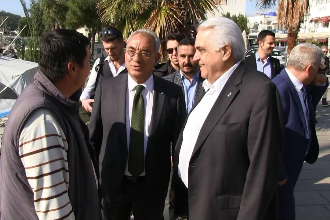 dsp genel başkanı Önder aksakal DSP GENEL BAŞKANI BODRUM'DA ADAYINA DESTEK VERDİ… dsp genel baskani onder aksakal 4
