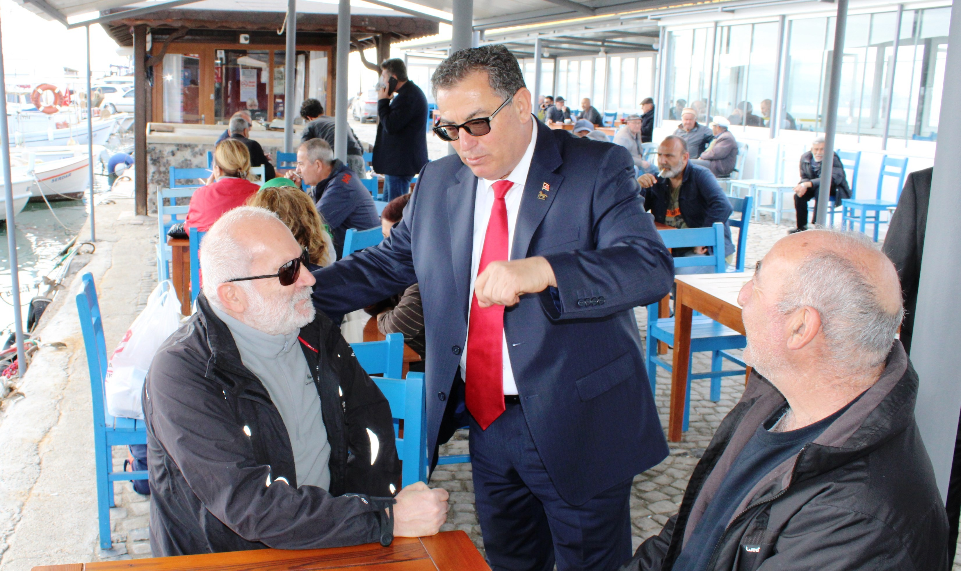 halil ibrahim kaynar KAYNAR, TURGUREİS'TEN SESLENDİ: ALT YAPI BENİM İŞİM… kaynar turgutreis3