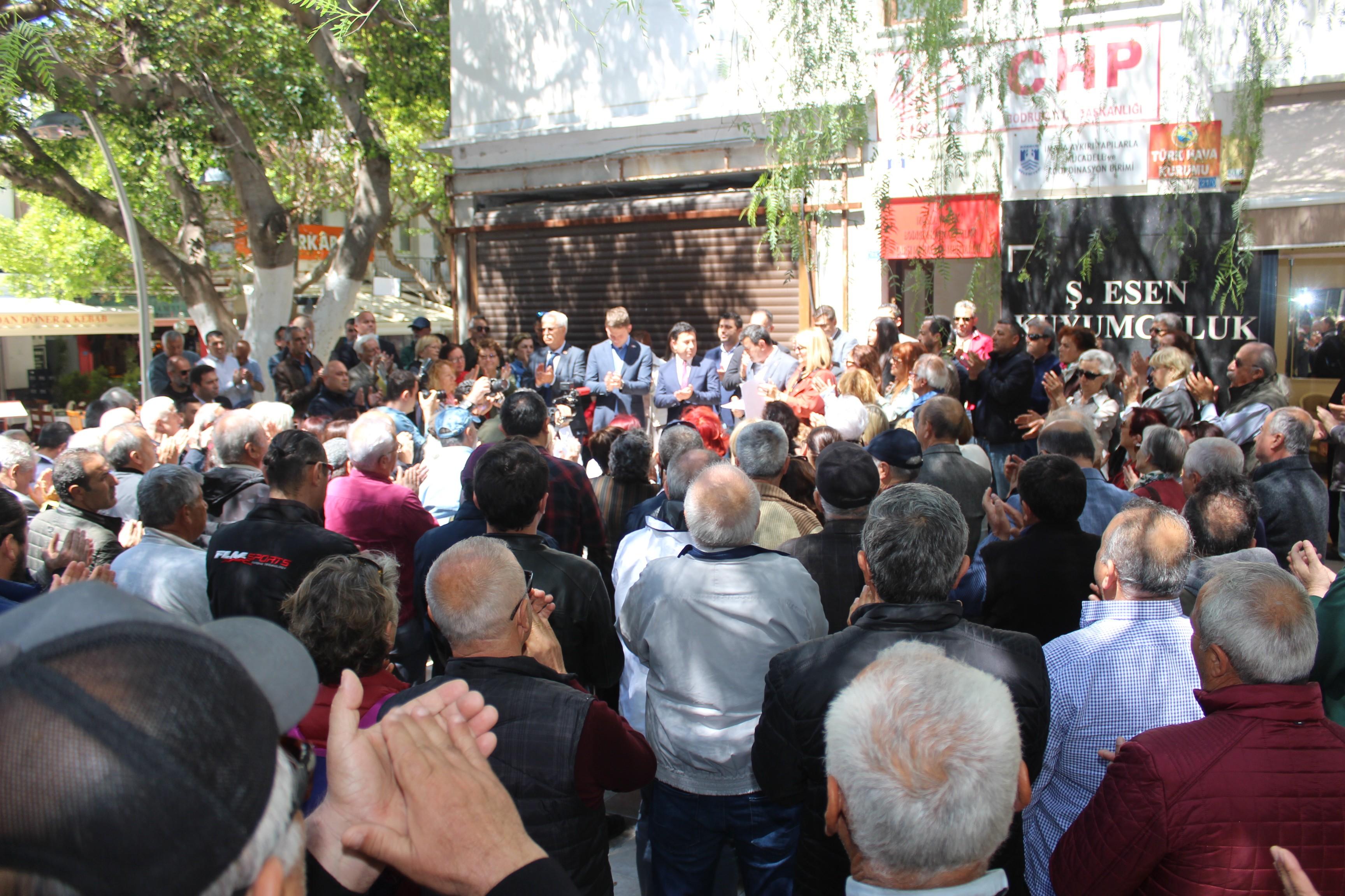 """kemal kılıçdaroğlu BAŞKAN ARAS: """"O YUMRUK TÜRK MİLLETİ'NE ATILMIŞTIR"""" CHP"""