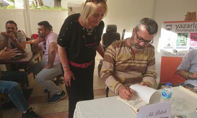 aysel yenidoğanay KİTAP İMZA GÜNÜNDE ADANALI YAZARLAR BİR ARAYA GELDİ… adanal   yazarlar bodrum da kitaplar  n   imzalad   3 400x240